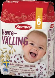 Sữa ngũ cốc valling (6tháng)