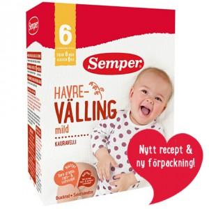 Cách pha sữa ngũ cốc valling Semper