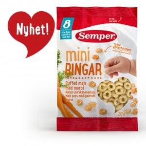 Bánh ăn dặm Semper cho bé trên 8 tháng