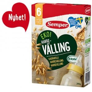 Sữa ngũ cốc valling ORGANIC(6 tháng)